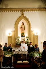 Foto 0421. Marcadores: 07/11/2008, Capela Santa Ignez, Igreja, Marta e Bruno, Rio de Janeiro