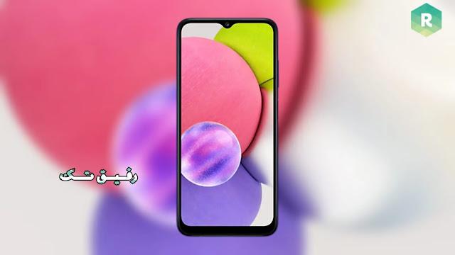 تنزيل خلفيات سامسونج  Samsung Galaxy A03s  الأصلية بجودة عالية الدقة