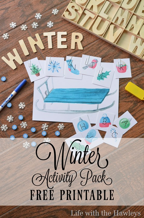 Winter Activity Pack- Life with the Hawleys