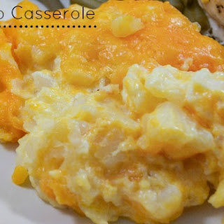 Cheesy Potato Casserole.