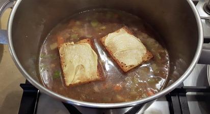 Añadir pan de especias
