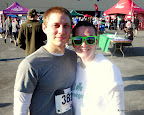 Mike and I after the race.