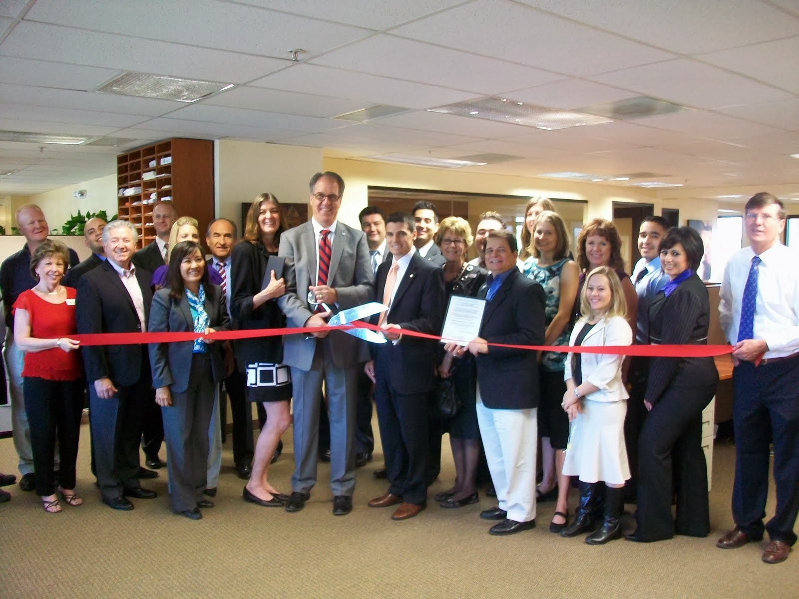 Northwestern Mutual officially opens its newly expanded Tucson office.  Thanks to the company's focus and success in the Tucson market, the local office is adding staff and experiencing rapid growth.  Northwestern Mutual offers insurance for life, disability and long term care as well as investment products.
