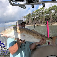 Tim with a Bull RedFish 09-28-2018