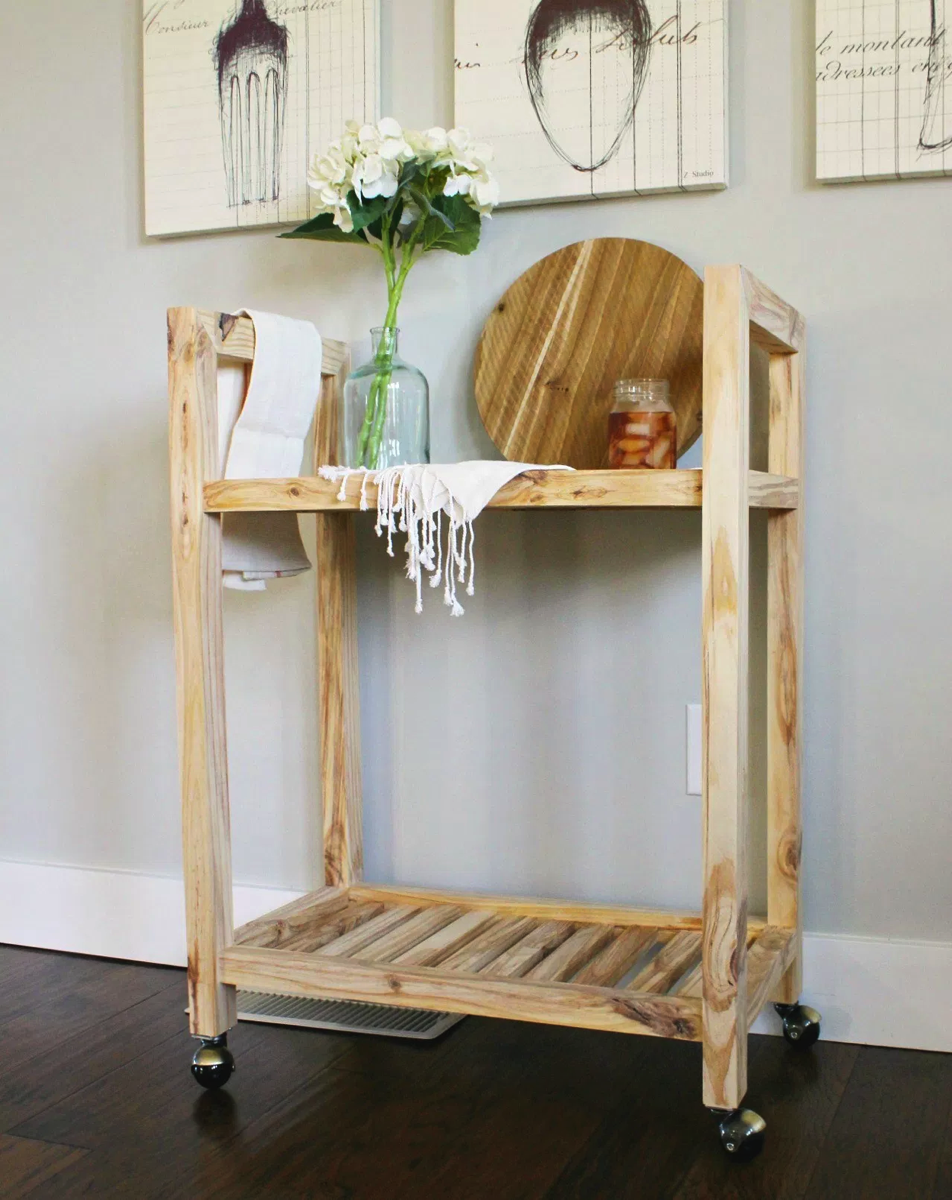 one board bar cart