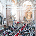 Fronleichnam - Pontifikalamt im Dom St. Jakob - 4. Juni 2015