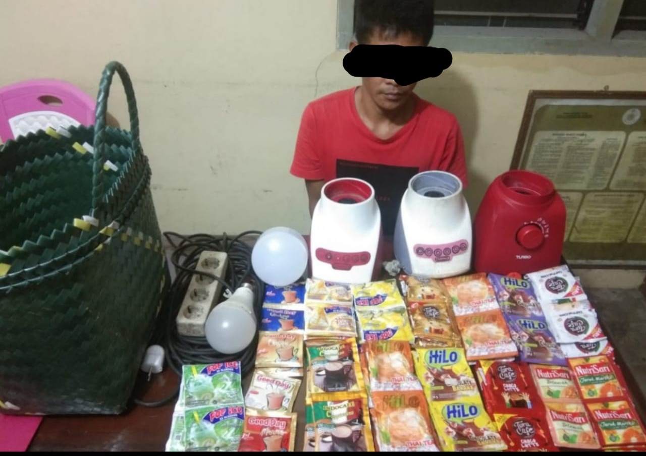 Satu Tahun Bebas, Pelaku Spesialis Pencuri Kembali Di Tangkap Polsek Kuantan Tengah