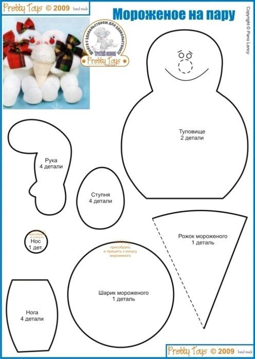 muñeco de nieve 12
