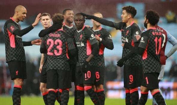 FA CUP: Liverpool Defeats Youthful Aston Villa 4-1