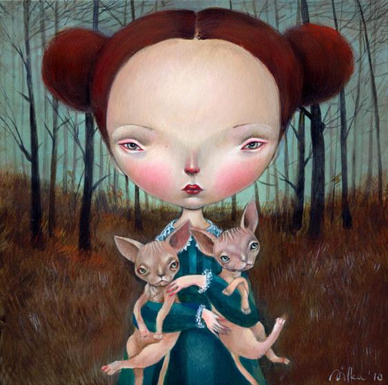 Paintings Dilka Bear