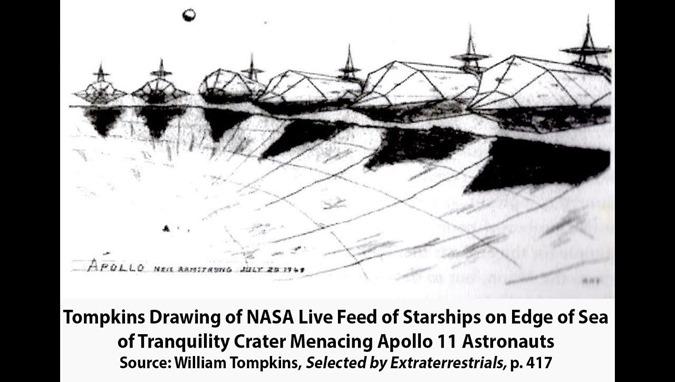 A Marinha dos EUA não conseguiu colocar 10.000 pessoas na Lua devido a um ataque extraterrestre 05
