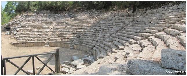 Амфитеатр, Древний Фазелис.