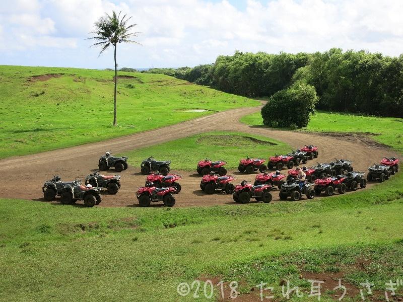 ハワイ旅行㉖ クアロアランチへバギー(ATV)をしに行った 運転は難しい? レビュー・口コミ