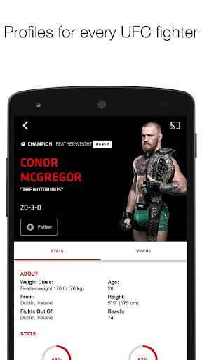 UFC screenshot