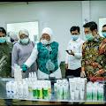 Ida fauziya Kepincut Saat Kunjungi PT Kitoshindo International Biotech Jetis