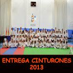 ENTREGA CINTURONES 2013