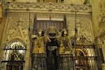 Séville: tombeau de Christophe Colomb, cathédrale
