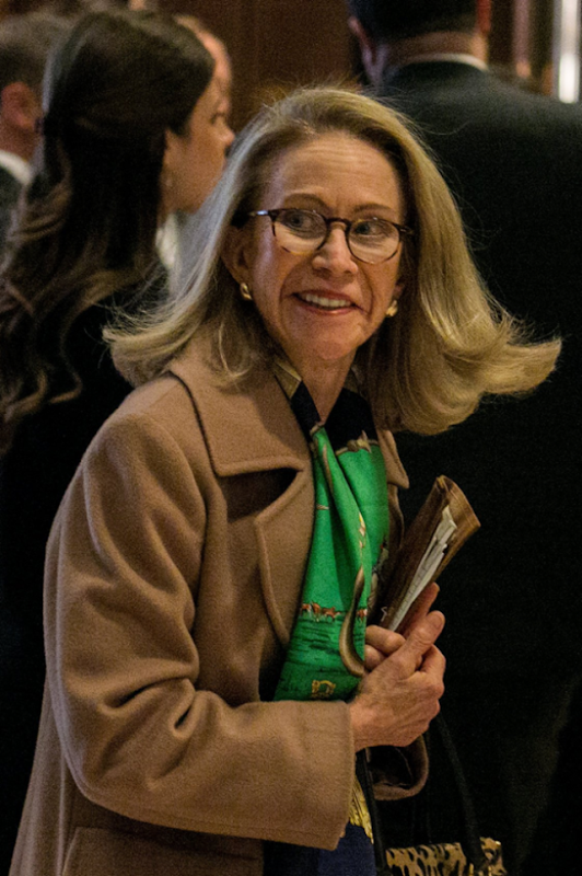 Kathleen Hartnett White was chosen by President Trump to lead the White House Council on Environmental Quality. Photo: Sam Hodgson / The New York Times