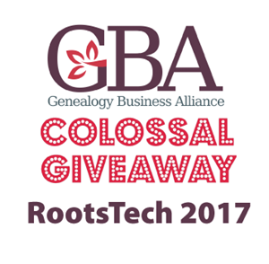 Genealogy Business Alliance RootsTech 2017 Colossal Giveaway