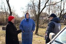 Nina Afanasievna a Lyubov. Severnoe, Ukrajina. Foto: Roman Lunin, Člověk v tísni