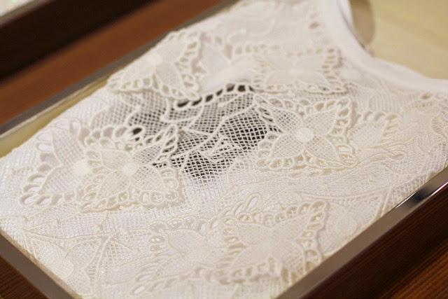 Louis Vuitton lace top