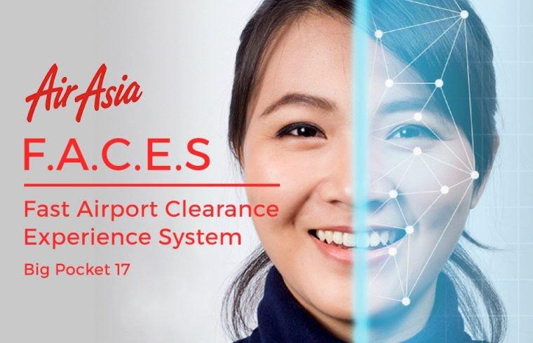 Siatem F.A.C.E.S Air Asia tanpa perlu dokumen