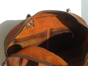 Кожаная сумка ручной работы #30МШ dina art