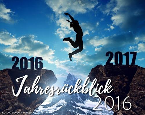 Tschüss 2016 – Hallo 2017! – Mein Jahresrückblick 2016