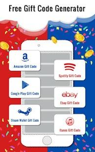 Free Gift Codes Generator - náhled