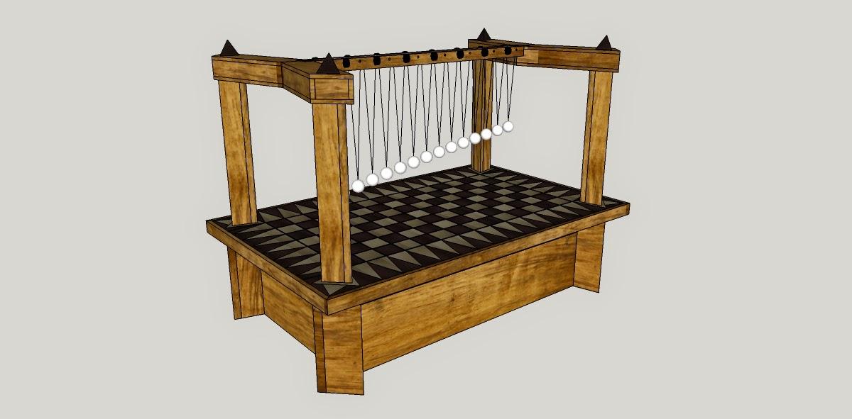 Pendule harmonique, ou comment allier math, physique et ébénisterie !  Pendule