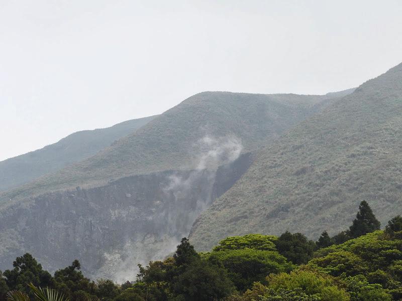 Fumerolles volcaniques