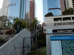 The still-closed Angels Flight funicular