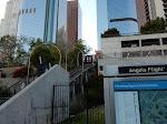The still-closed Angels Flight funicular
