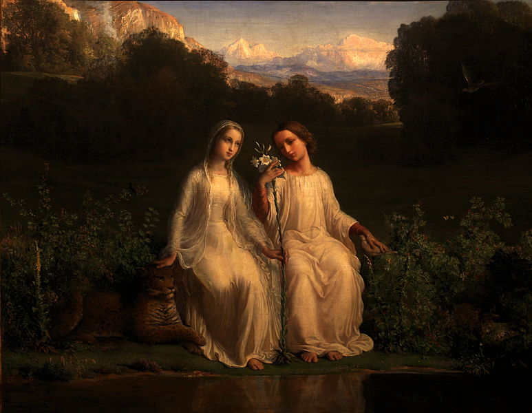 Louis Janmot - Poem of the Soul - Virginitas