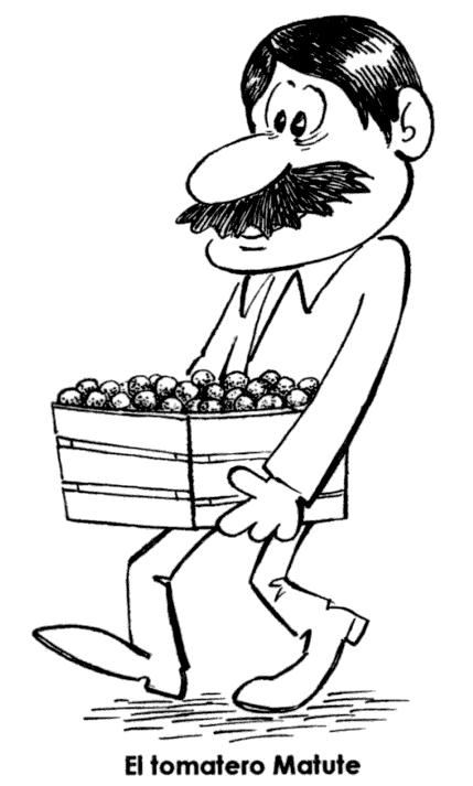 El tomatero Matute