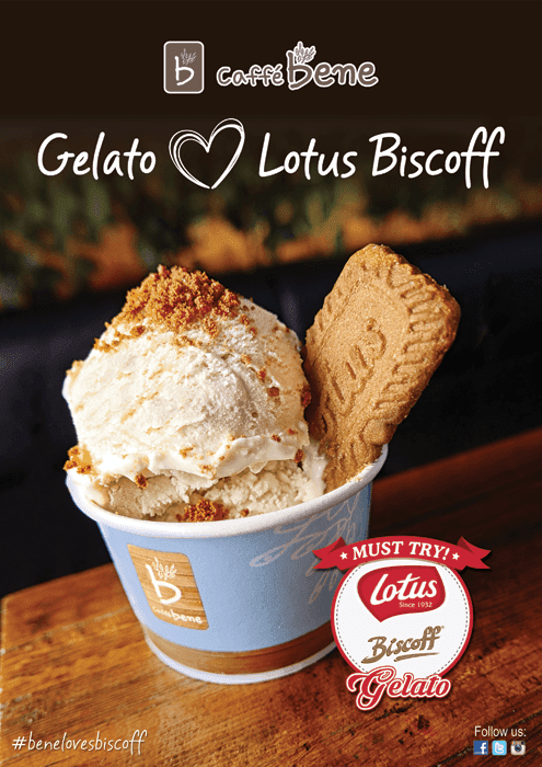 Caffe Bene Partners with Lotus Biscoff