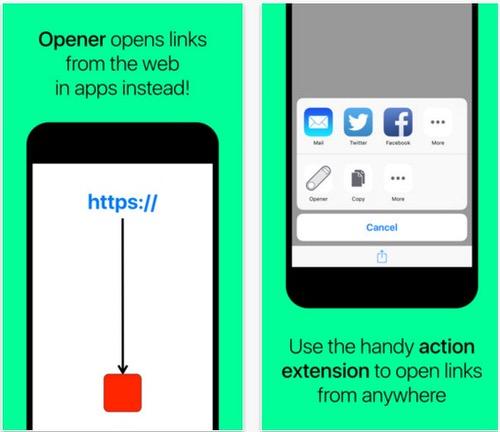 Safariのリンクをアプリで開く方法