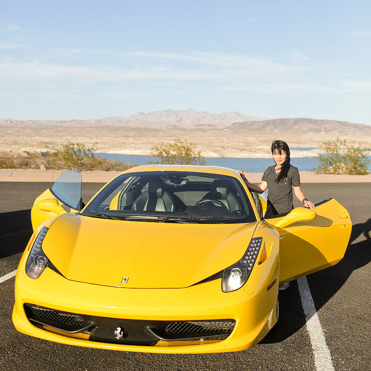 Fun Things to Do in Vegas - Test Drive a Ferrari, Lamborghini and GTR.