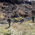 Diduga Gegara Puntung Rokok, Picu Kebakaran Hutan di Bener Meriah