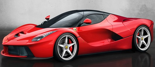 The Enzo replacement (aka F150 or F70) is called the La Ferrari!
