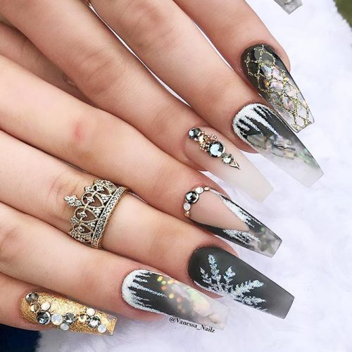 Cute Acrylic Nails For Long Nail For 2018 3