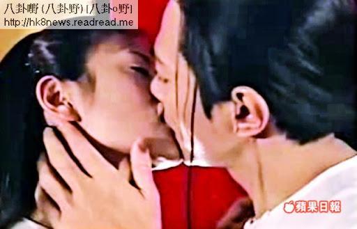 陳松伶曾罕有地和江華在《金玉滿堂》拍接吻鏡頭。電視圖片