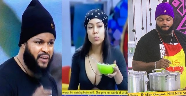 """#BBNaija: """"Maria has lost my respect"""" – Angry Whitemoney reacts after Maria trashed his food (Video)"""