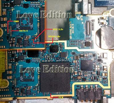 ISP PinOut Samsung SHV-E470S