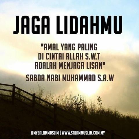 Jagalah Lidahmu