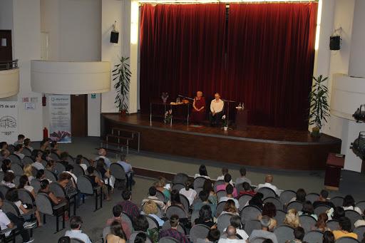 """Conferinta """"Viziunea buddhista asupra suferintei si remediului ei"""", cu Gonsar Tulku Rinpoche"""