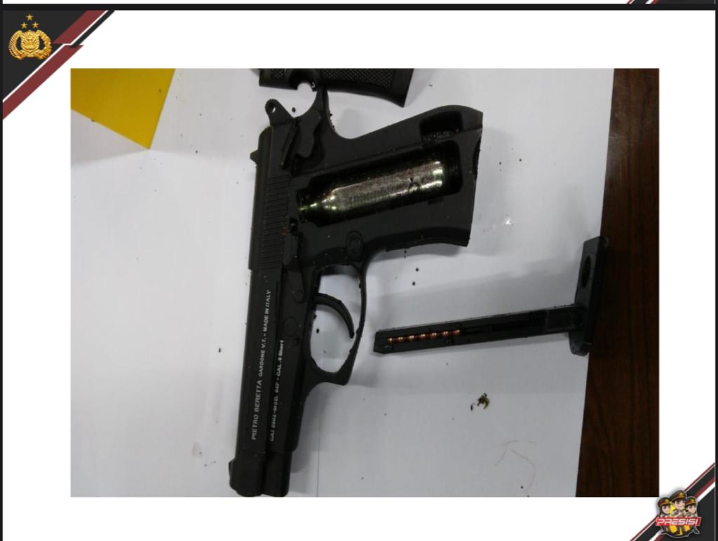 Polri Pastikan Senjata Pelaku Teror Mabes Polri Jenis Airgun