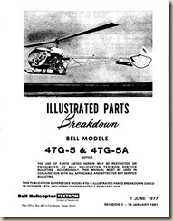 Bell 47G Illustrated Parts Breakdown_01