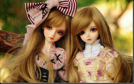 Cute Twins Barbie Doll wallpapers 10