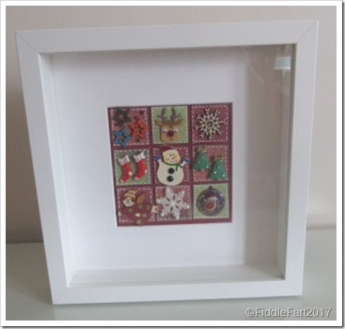 CHristmas Patchwork Memory Box 8